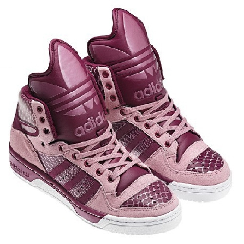 adidas girls high tops