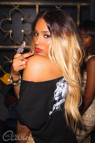 Ciara Platinum Blonde Hair
