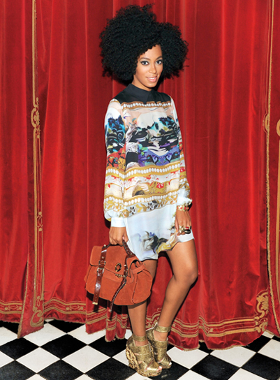 Look Of The Day Solange Knowles Arta Chic