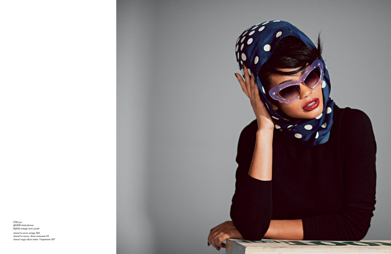 Beauty Fashion Xoxo: CHANEL IMAN GOES MOTOWN IN XOXO