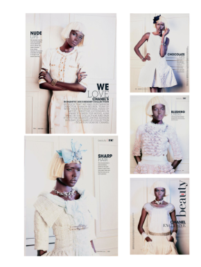 Ajak Deng Inside Marie Claire South Africa