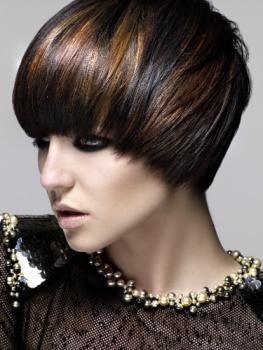 copper-highlights-on-dark-brown-hair-short