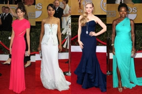 Our List For Best Dressed At The SAG Awards2013