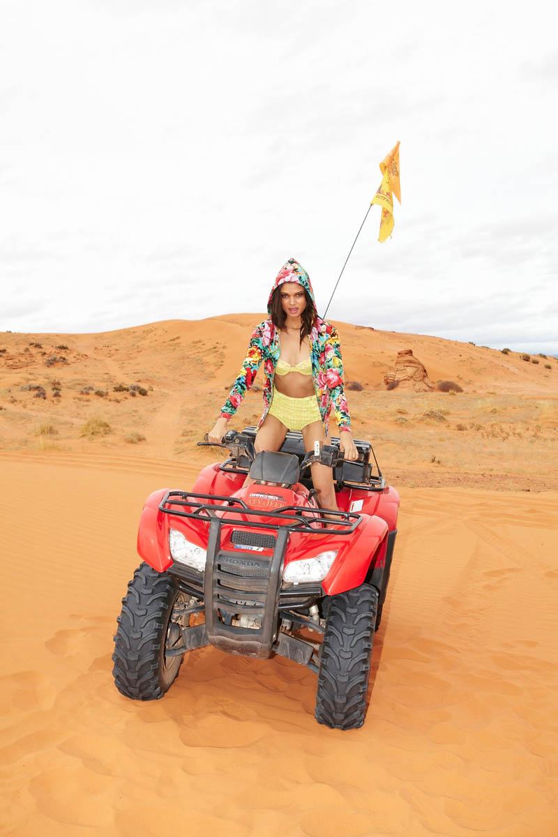 Devyn Galindo shoots Daniela Braga for Nasty Gal Pre-Spring Lookbook