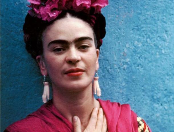 Mexican born painter Frida Kahlo