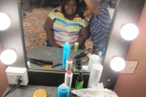 Backstage With Gabourey Sidibe For Showtime