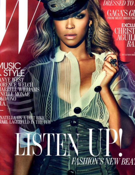 Beyonce-W-Magazine-Cover