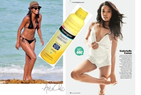 Gabrielle Union Wants You To Be Smart AboutSunscreen