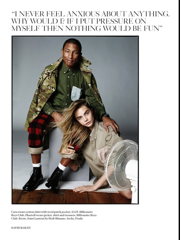 1-2-Pharrell-Williams-and-Cara-Delevingne-by-David-Bailey-for-Vogue-UK-September-2013-