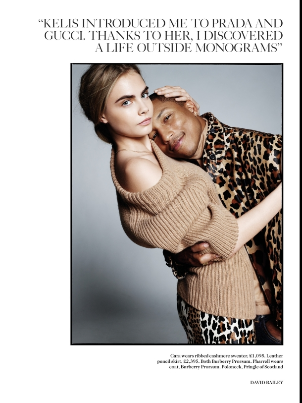 3-Pharrell-Williams-and-Cara-Delevingne-by-David-Bailey-for-Vogue-UK-September-2013-