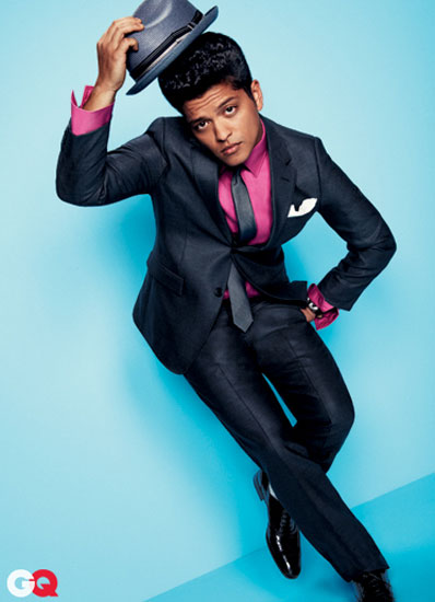 Bruno+Mars+GQ+Magazine