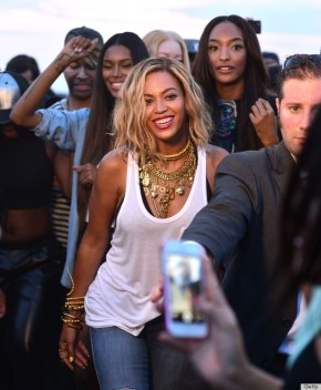 Beyonce Okays Top Models