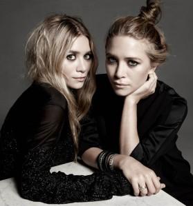 Designers Ashley and Mary Kate Olsen