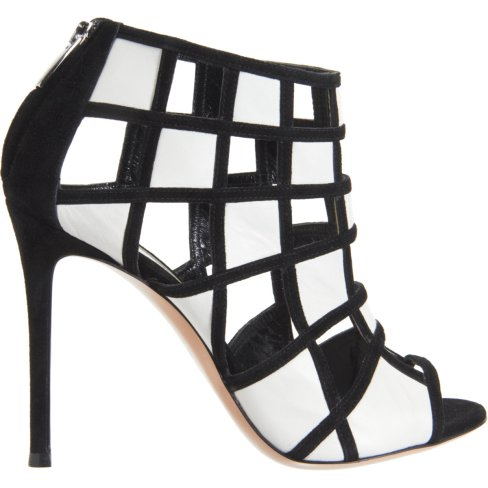 Gianvito-Black-and-White-Geometric-Cutout-Booties