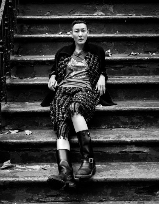the-libertine-magazine-harmony-boucher-jenny-shimizu-by-andreas-larsson-in-the-street-double-24-fall-2012-4