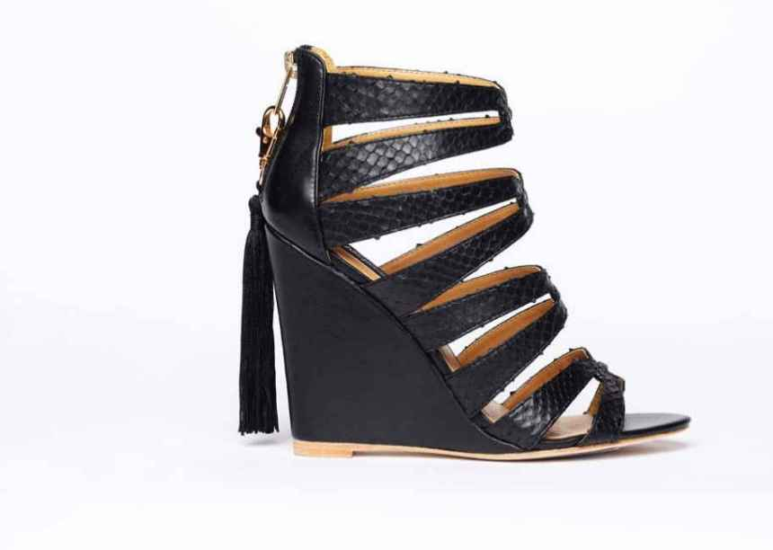 Alejandra-G-Racquel-Black-Wedge-Sandals