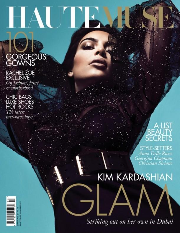 Kim kardashian covers haute muse magazine 2
