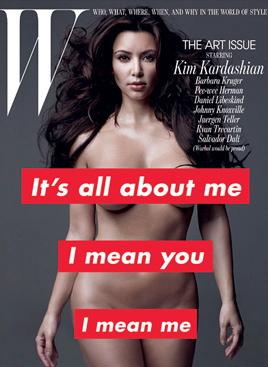 w-magazine-kim-kardashian-barbara-kruger