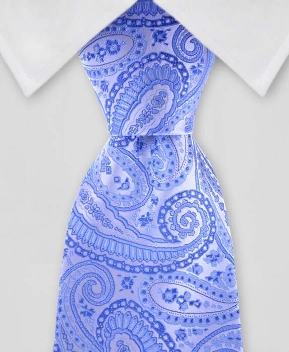 Paisley Tie lt Blue