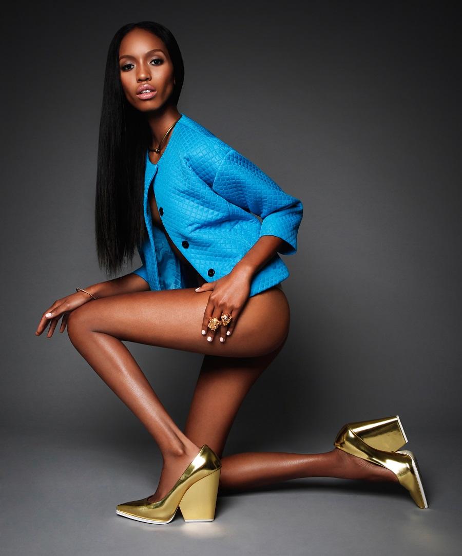 Ebony long legs