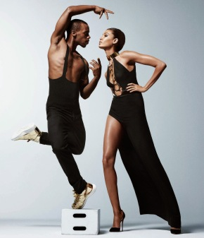 Jumping For Joy: Lil Buck Featuring Joan Smalls