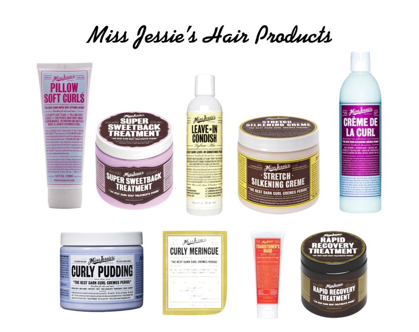 Jessie Natural Hair Products