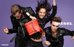 "Diesel Campaigns Are Screaming ""Happy"" In 2015"