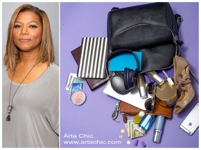 Queen Latifah Has A Few Things Stuffed In Her Bag.. And We're Like… What?Really?