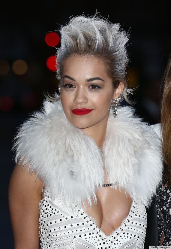 LONDON, ENGLAND - APRIL 01:  Rita Ora attends the preview of The Glamour of Italian Fashion exhibition at Victoria & Albert Museum on April 1, 2014 in London, England.  (Photo by Tim P. Whitby/Getty Images)