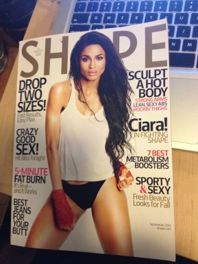 What In The World Is Ciara Wearing On Shape Magazine?!