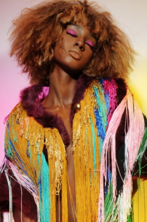 Model Isa Messiah Gets Colorful