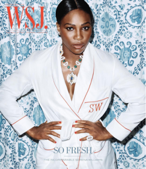 Serena Williams Shows Off Her Gorgeous Toned Body ForWSJ