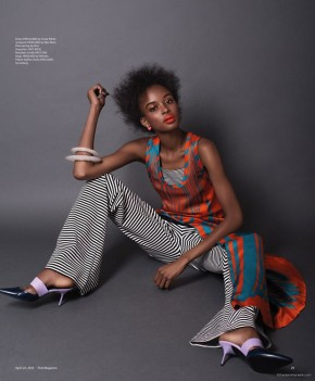 KAD DIALLO For SCMP Magazine