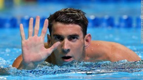 DON'T GET IT TWISTED..MICHAEL PHELPS GETS LOVE FROM EVERYONE